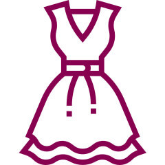 tabuľka veľkosti šaty
