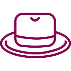tabuľka veľkosti klobúky