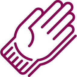 tabuľka veľkosti rukavice