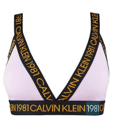 Statement 1981 svetloružová podprsenka Calvin Klein