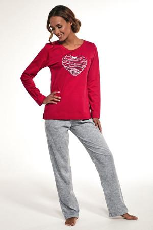 Bavlnené pyžamo s okrúhlym výstrihom Heart