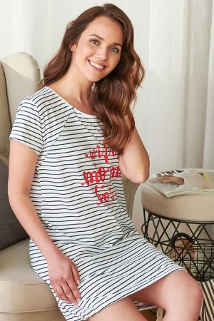 Bavlnené tehotenské pyžamo TCB 9702