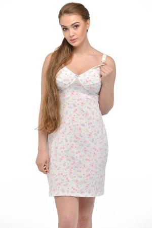 Bielo ružová sexy tehotenská košieľa 24124