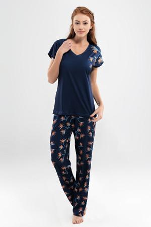 Dlhé modal pyžamo Valeria