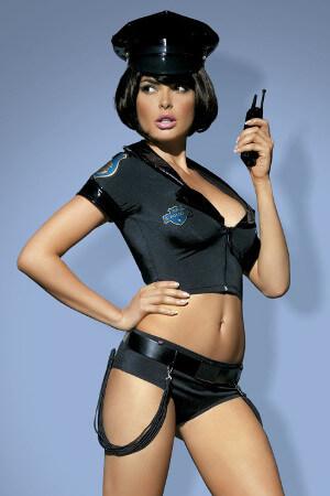 Erotický policajný kostým