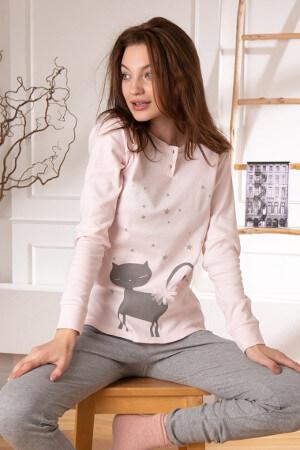 Hrejivé pyžamá model Kitty