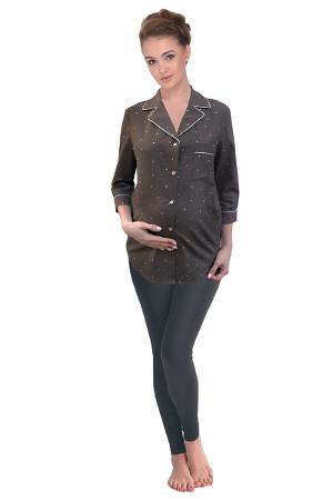 Pekné tehotenské pyžamko 24139