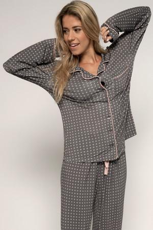 Pyžamový kabátik Esme s dlhým rukávom