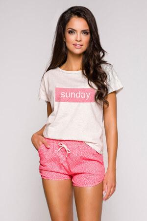 Ružové sexy pyžamo Pia