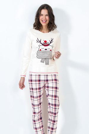 Vianočné pyžamo s dlhým rukávom Noel