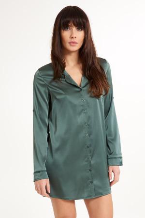 elegantná košeľa na spanie s dlhým rukávom Secret Delight