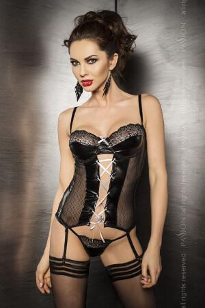 luxusne zvodný dámsky korzet značky Passion Marie čierna