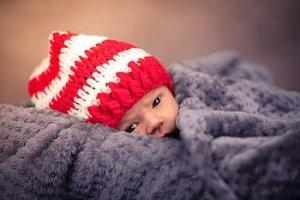 miminko a oblékání v zimě