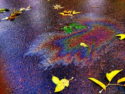 čištění oleje z betonu