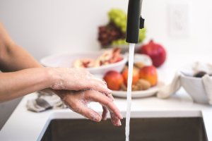 ako si umyť ruky