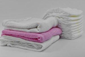 postup na vyprání ručníku
