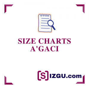 Size Charts A'Gaci