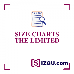 Size Charts The Limited
