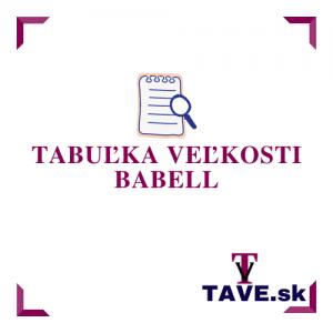 Tabuľka veľkosti Babell