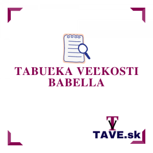 Tabuľka veľkosti Babella