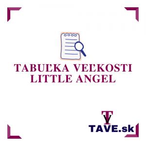 Tabuľka veľkosti Little Angel