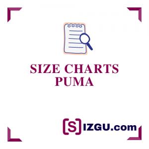 Size Charts Puma